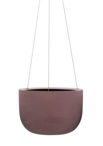 Raw Earth Hanging Planter Terra