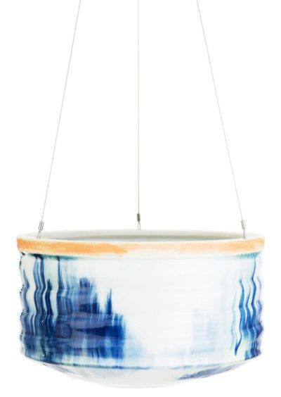 Artisan Range Hanging Planter Large Blue