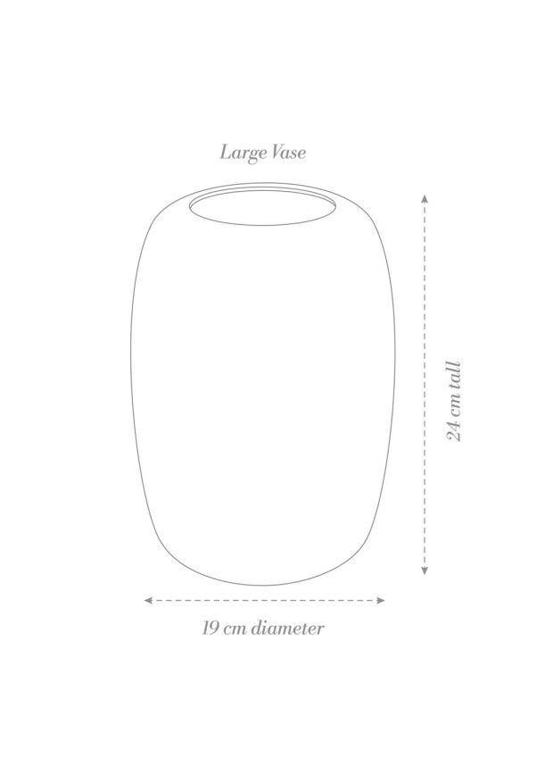 Centerpiece Vase Product Diagram