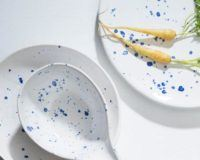 Blue Crystal Sashimi Dinnerware