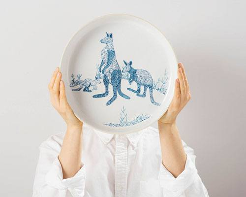 Blue Roos Dinnerware