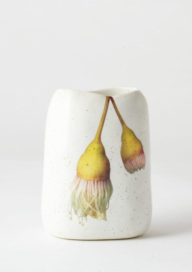 Pebble Vase Hanging Yellow Gum