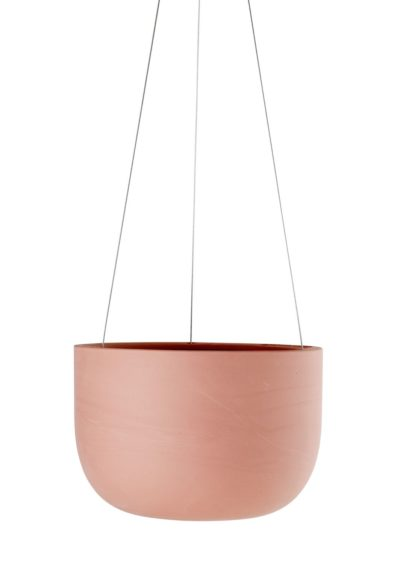Raw Earth Hanging Planter Ochre