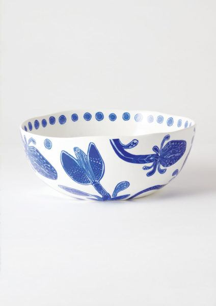 Angus & Celeste Bohemian Blue Dinner Set Salad Bowl