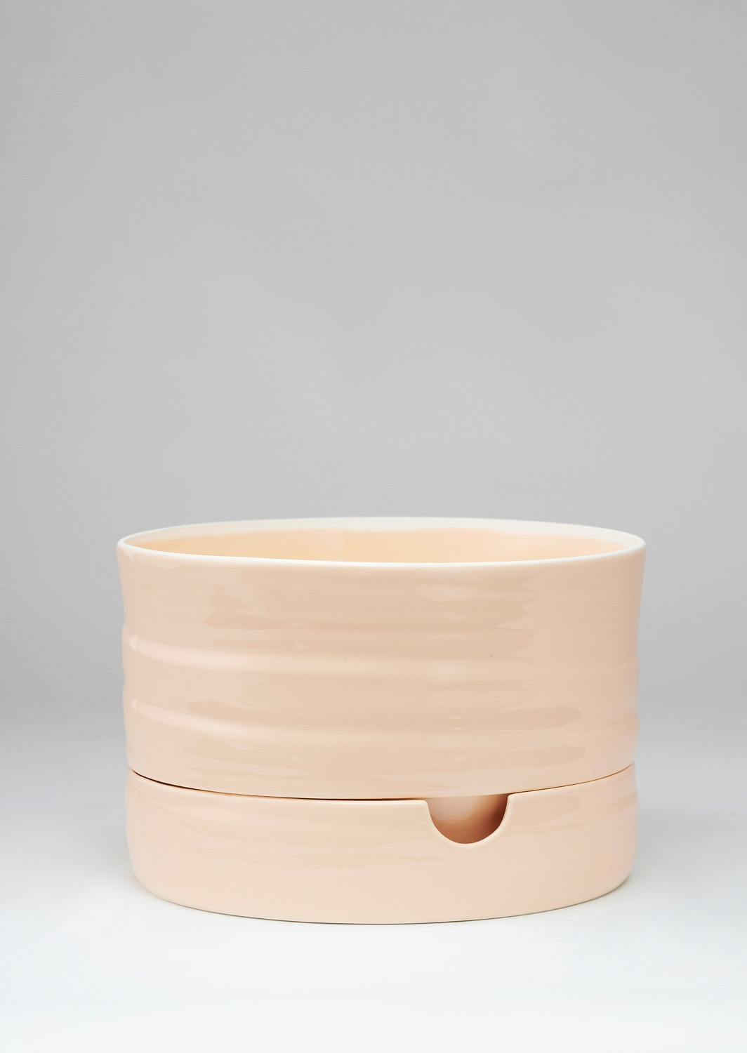 Angus & Celeste Self Watering Plant Pot Mid Burnt Coral