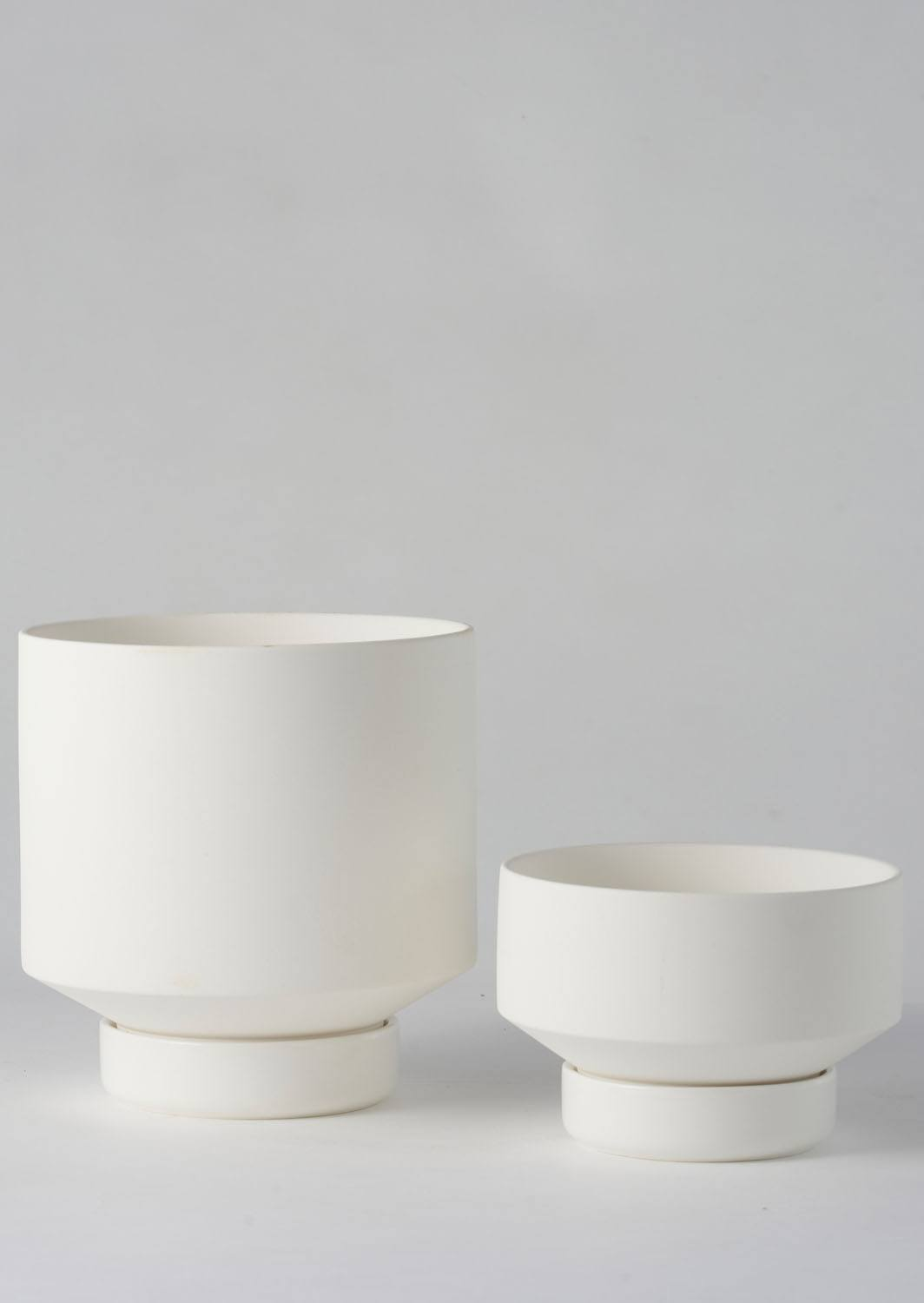 Angus & Celeste Collectors Gro Pot White Set