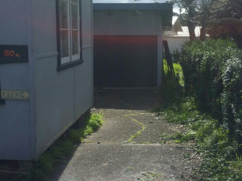 Single Garage & Overhead storage
