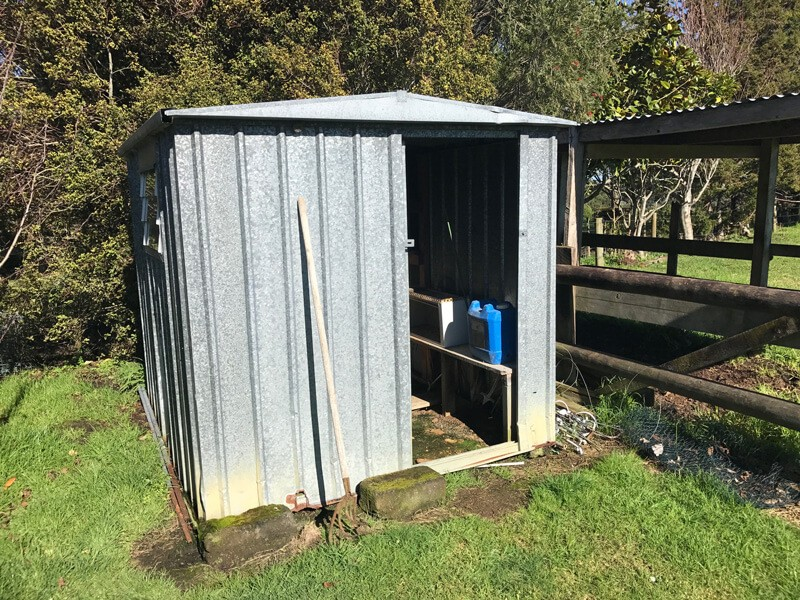Secure shed available in Ramarama