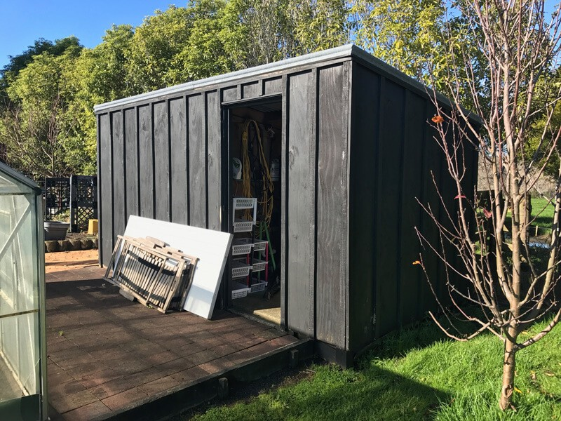 Timber shed available in Ramarama