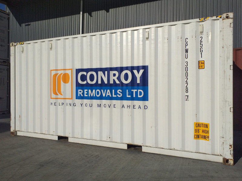 20 ft container in Christchurch