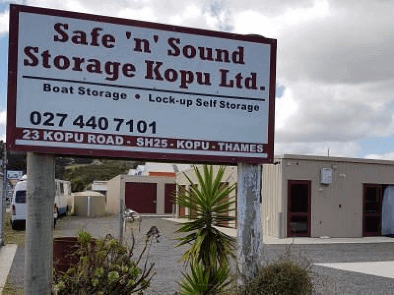 Safe N Sound Storage - Kopu