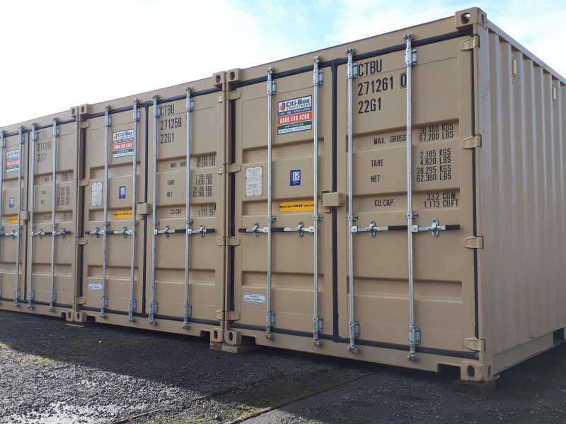 Citi Box Containers Storage - Taupo
