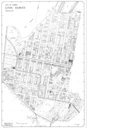 City of Sydney – Civic Survey, 1938-1950: Map 23 ... Map Of Woolloomooloo on