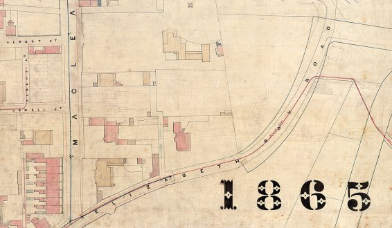 City of Sydney - Trigonometrical Survey, 1855-1865