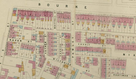 Plans of Sydney (Rygate & West), 1888