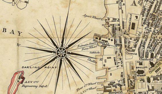 City of Sydney, 1854