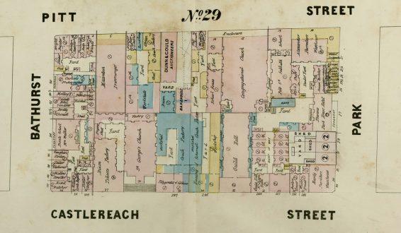 Plans of Sydney (Doves), 1880