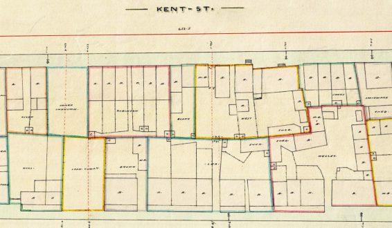 City of Sydney-Detail Plans, 1855