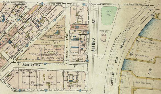 Plans of Sydney (Fire Underwriters), 1917-1939