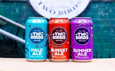 Two Birds new core craft cans 20210907