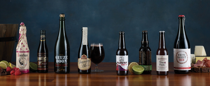 The sours line-up. Image by Brandee Meier Photography