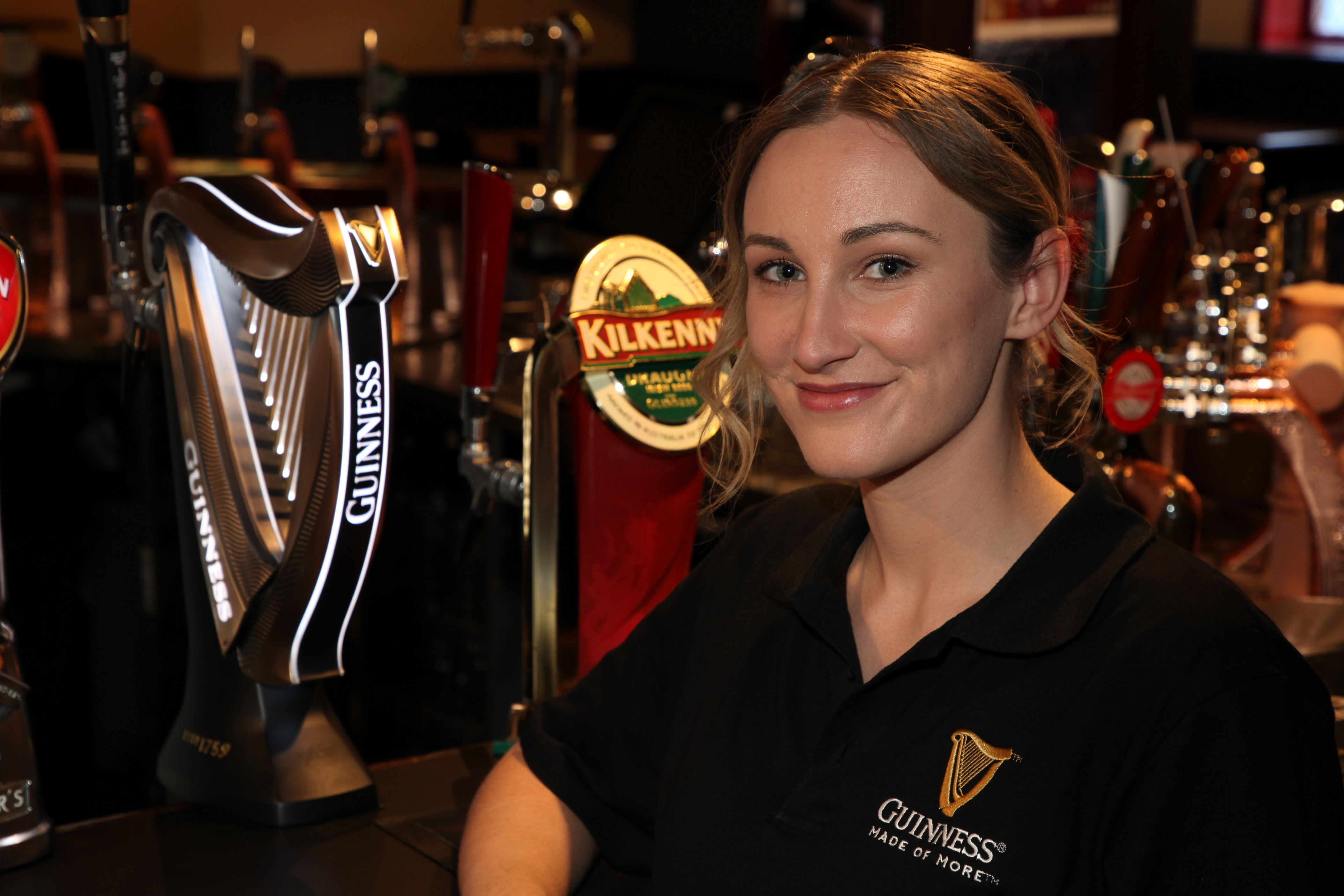Guinnes Pouring