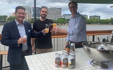 20201203_Treasury Brisbane COO Kelvin Dodt_Aether Brewing George MacGregor_RNA Beer Awards Advisory Group Member Matt Kirkegaard2