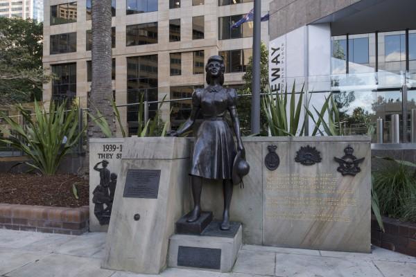 WWII Servicewomen Memorial