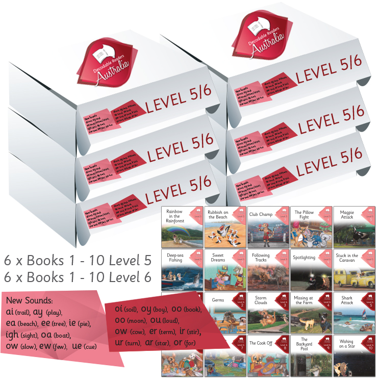 Level 5/6 | Phonics Books Australia | Decodable Readers Australia