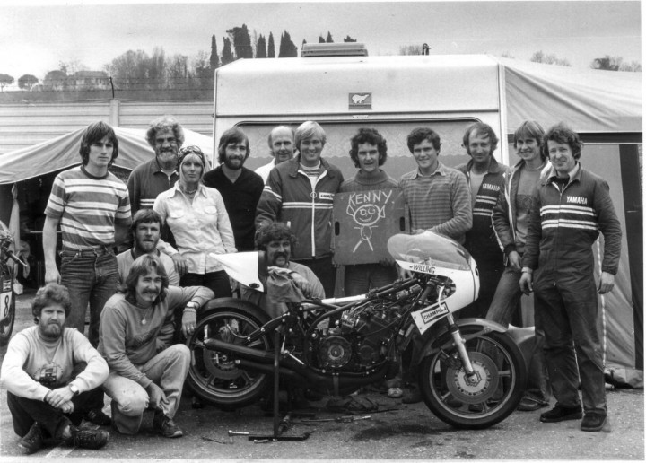 Ray and the gang at Imola