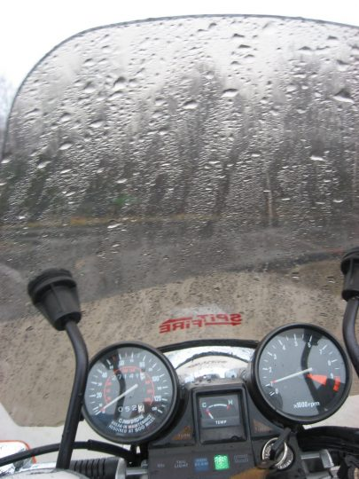 Motorcycle rain