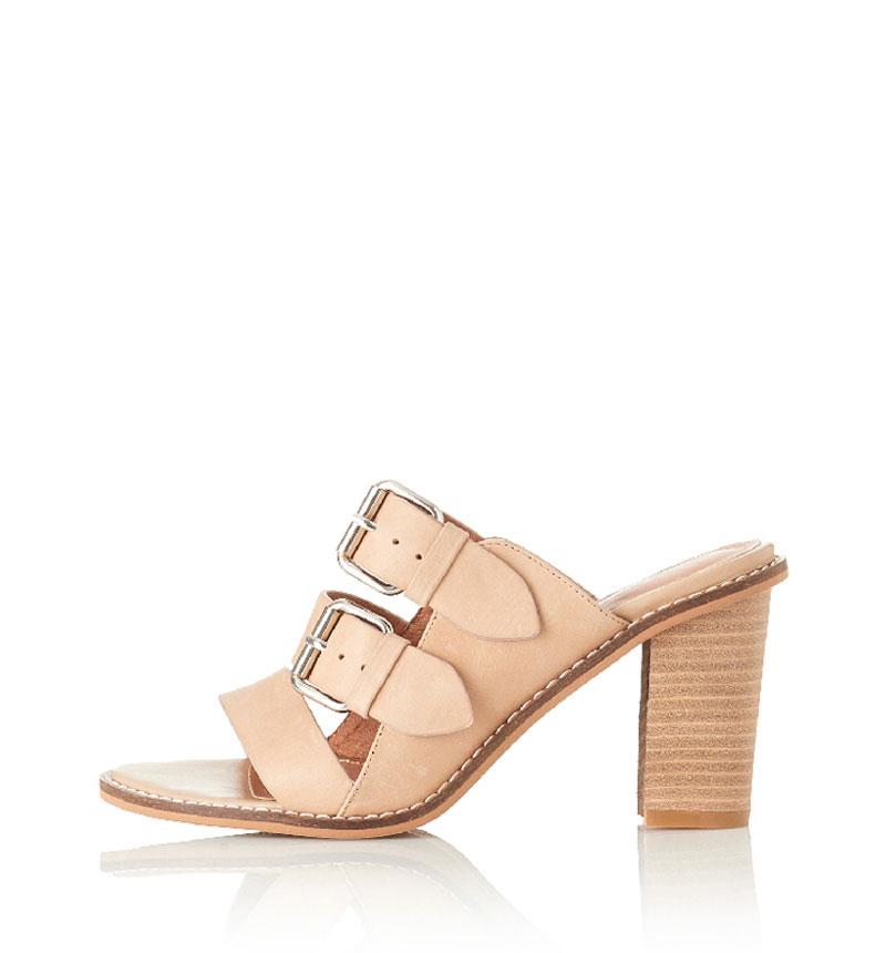 Alias Mae Elaine – Heel in Natural Leather