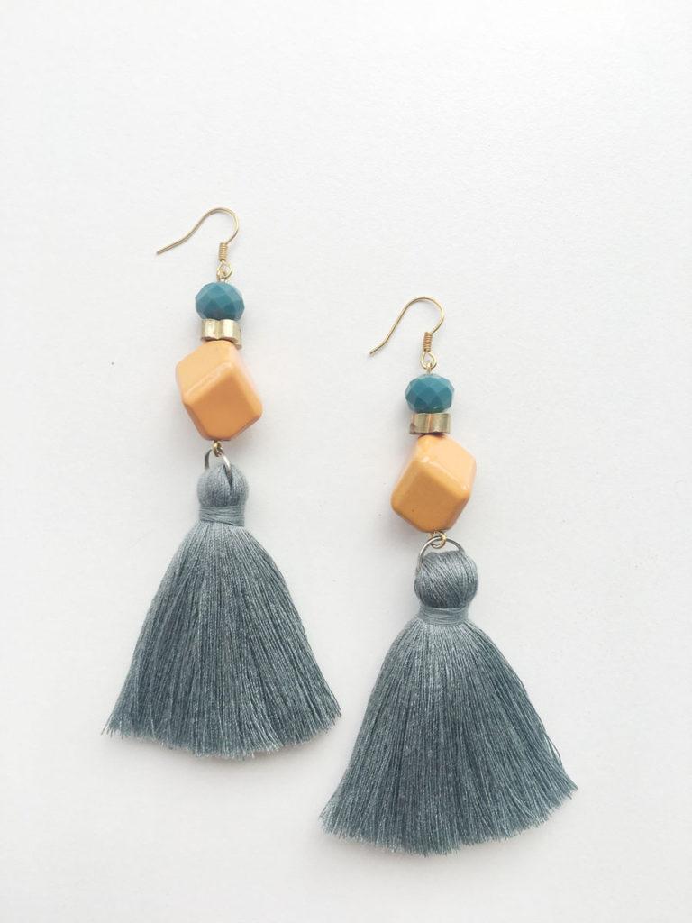 Natalie Alamein Primrose Sage Earrings S