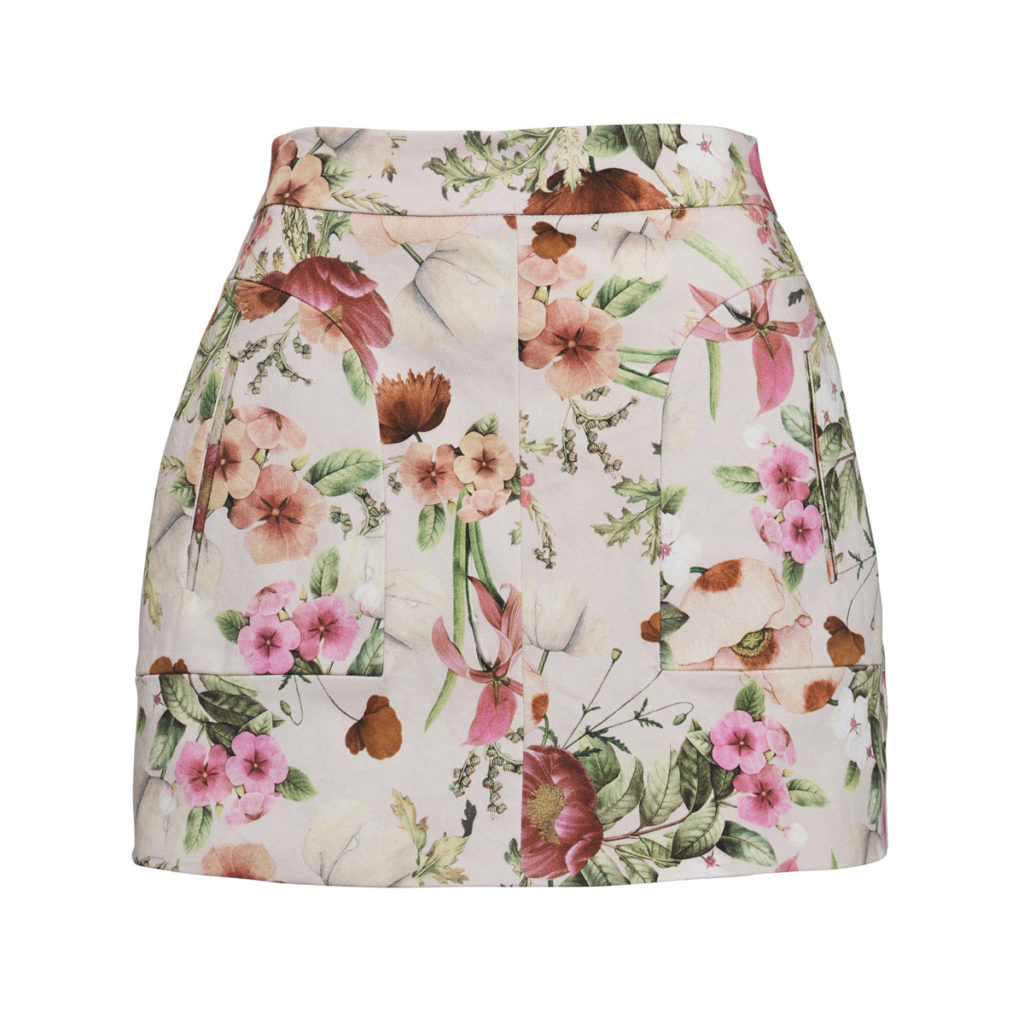 We Are Kindred Field Bouquet Mini Skirt