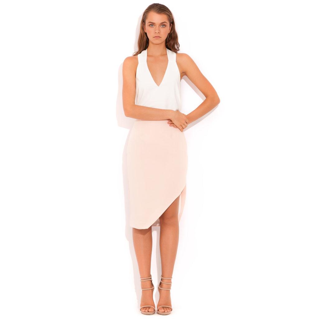 Wish Chameleon Skirt – Dusty Pink