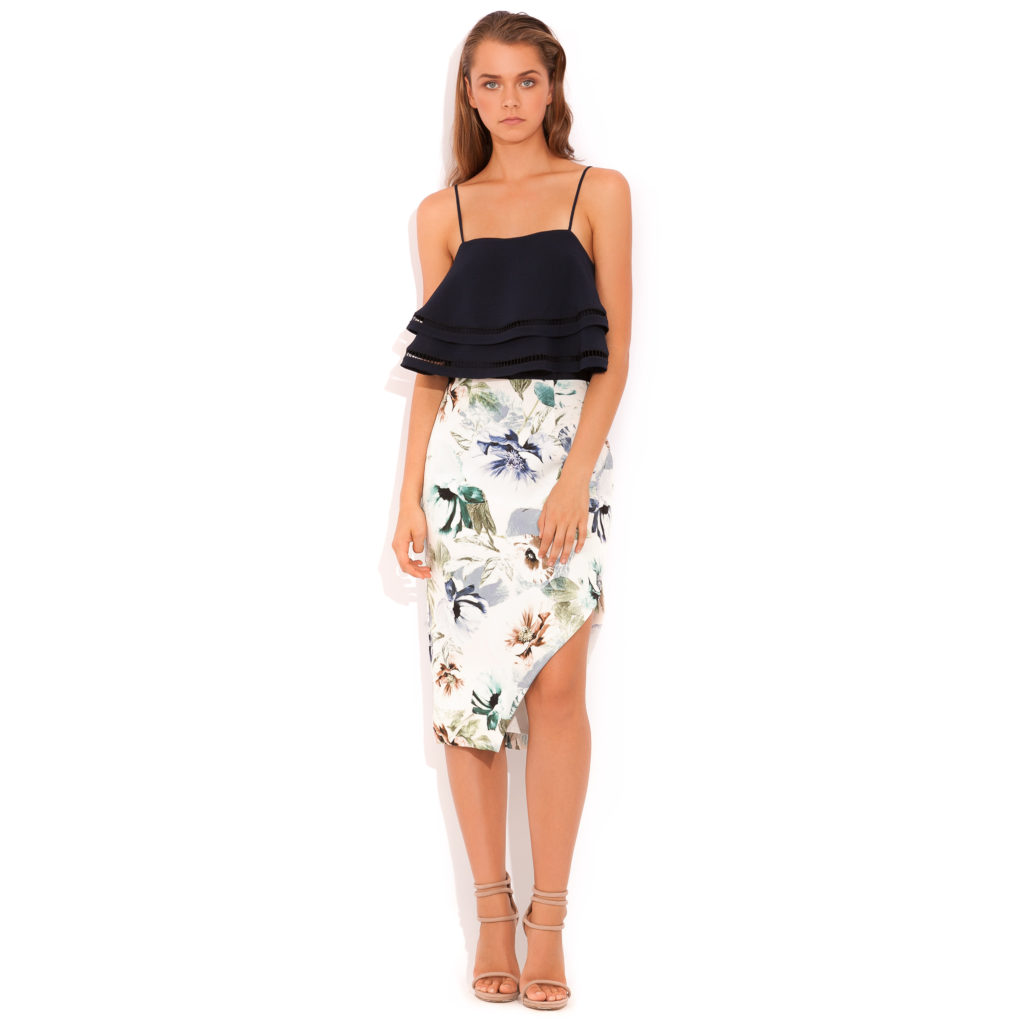 Wish Now and Later Skirt – Garden