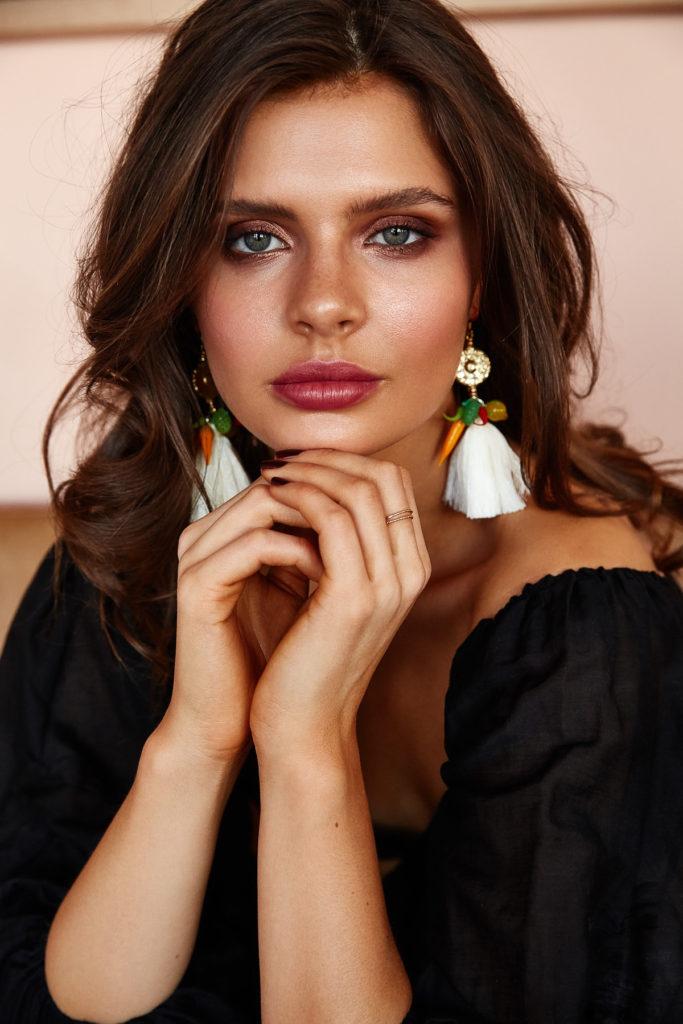 Natalie Alamein Playa Del Carmen Sorbet Earrings