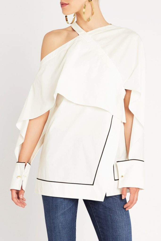 sass and bide Manstyling Top – White