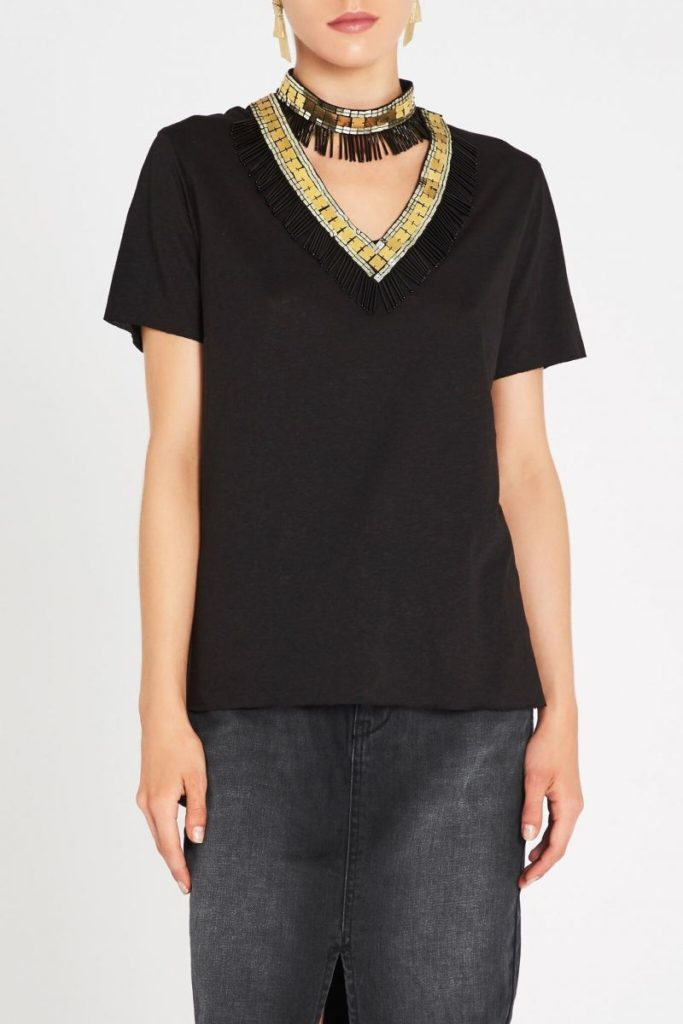 sass and bide Shining Armour Tee