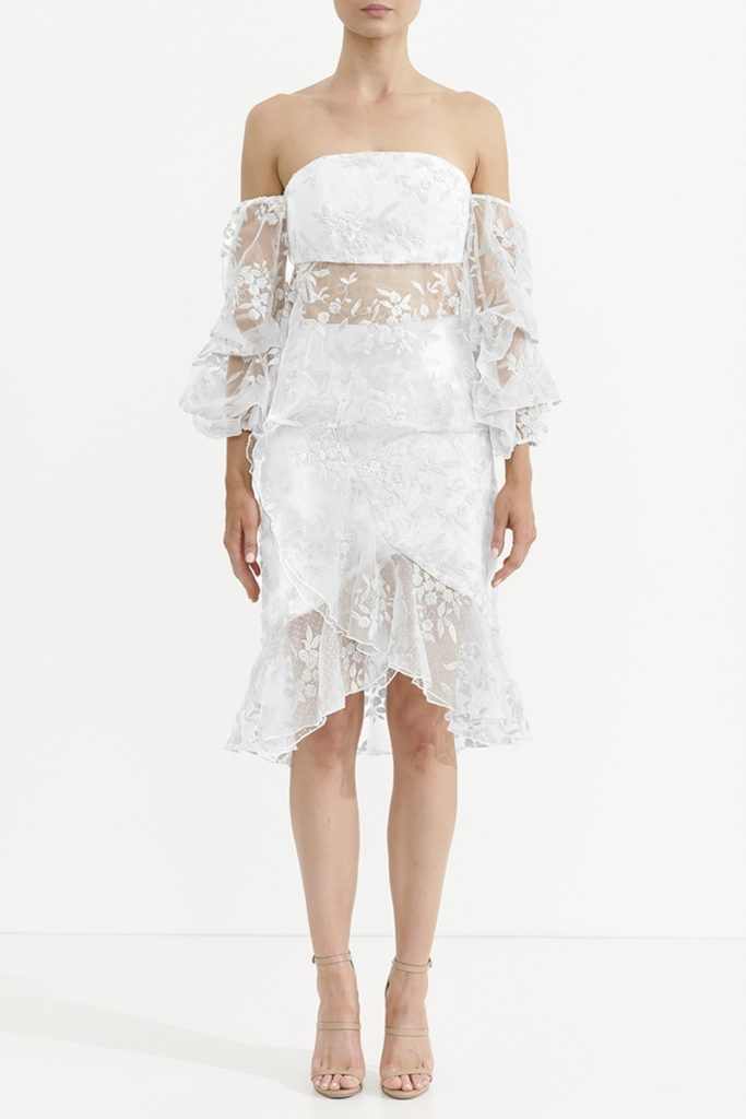 ASILIO Wysteria Lace Flounce Skirt