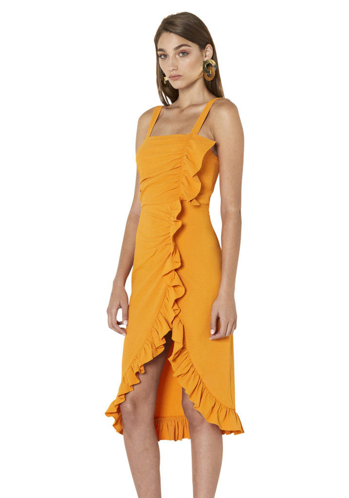 ByJohnny Cross-Over Nectar Dress