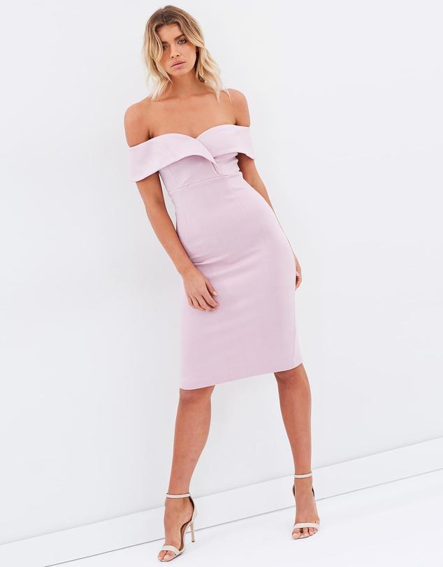 Mossman She Told Me So Dress – Lilac