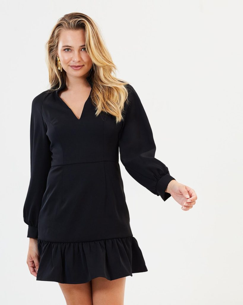 Mossman Stranger Things Dress – Black