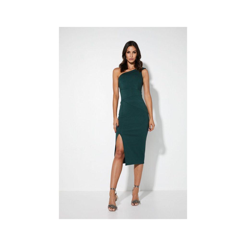 Mossman Off The Way Side Dress – Emerald