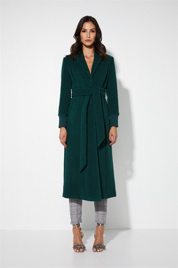 Mossman The Out Of Action Coat – Emerald