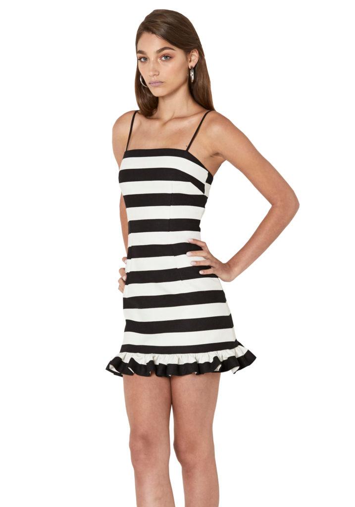 ByJohnny April Frill Mini Dress