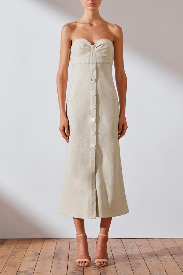 Shona Joy Savannah Bias Midi Dress