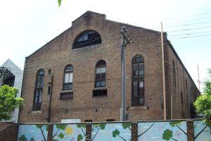 Rear view of Trocadero taken from North Newtown Public School yard. Taken by R. Parkinson 10/01/2004.