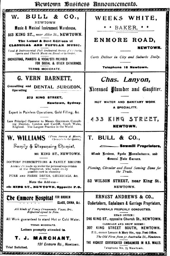 sands1899 Business Announcements