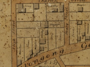 Newtown 1845 Eliza Street and Newtown Road